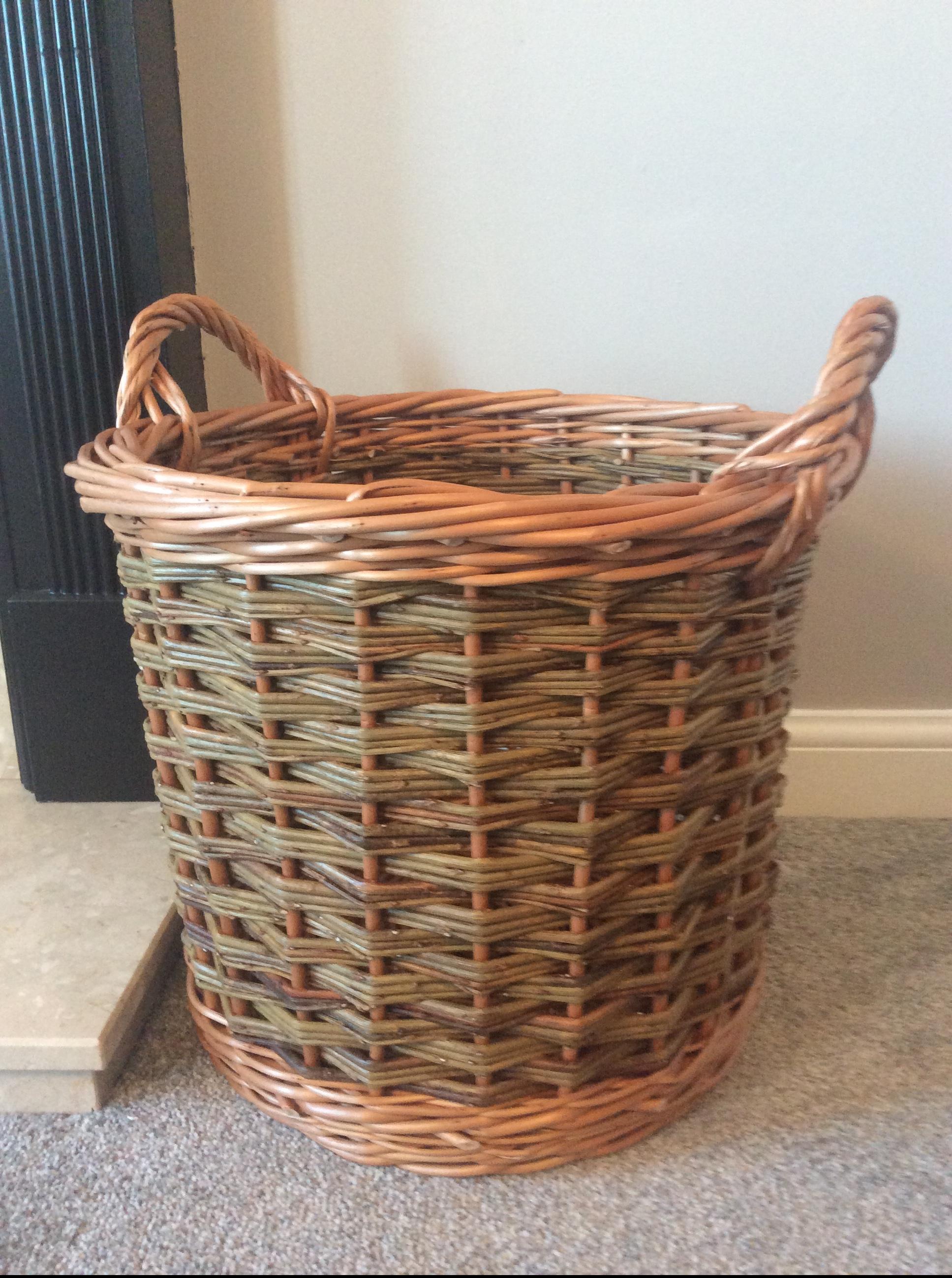 Small Log Basket
