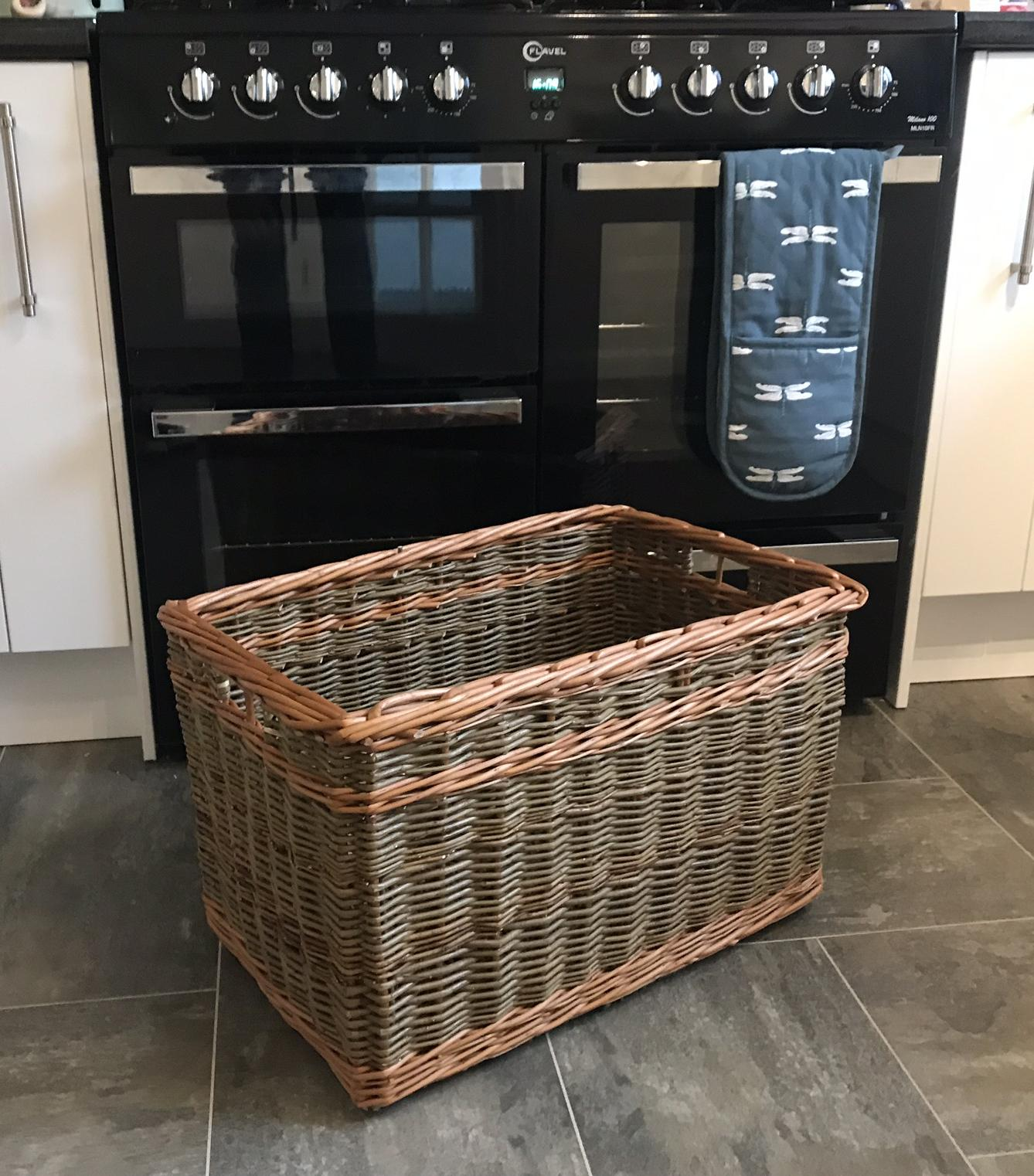 Square Log Baskets